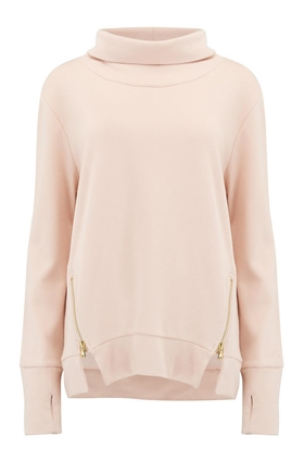 Clement Sweater in Whisper Pink