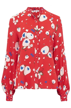 Lily & Lionel Maddox Blouse in Love Heart Floral