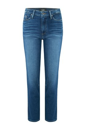 Paige Hoxton Straight Ankle Jean in Braelynn