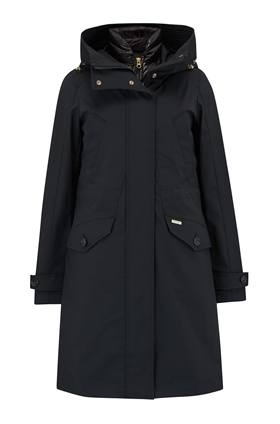 Woolrich Galena 3-in-1 Down Parka in Black