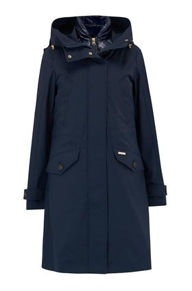 Woolrich Galena 3-in-1 Down Parka in Navy
