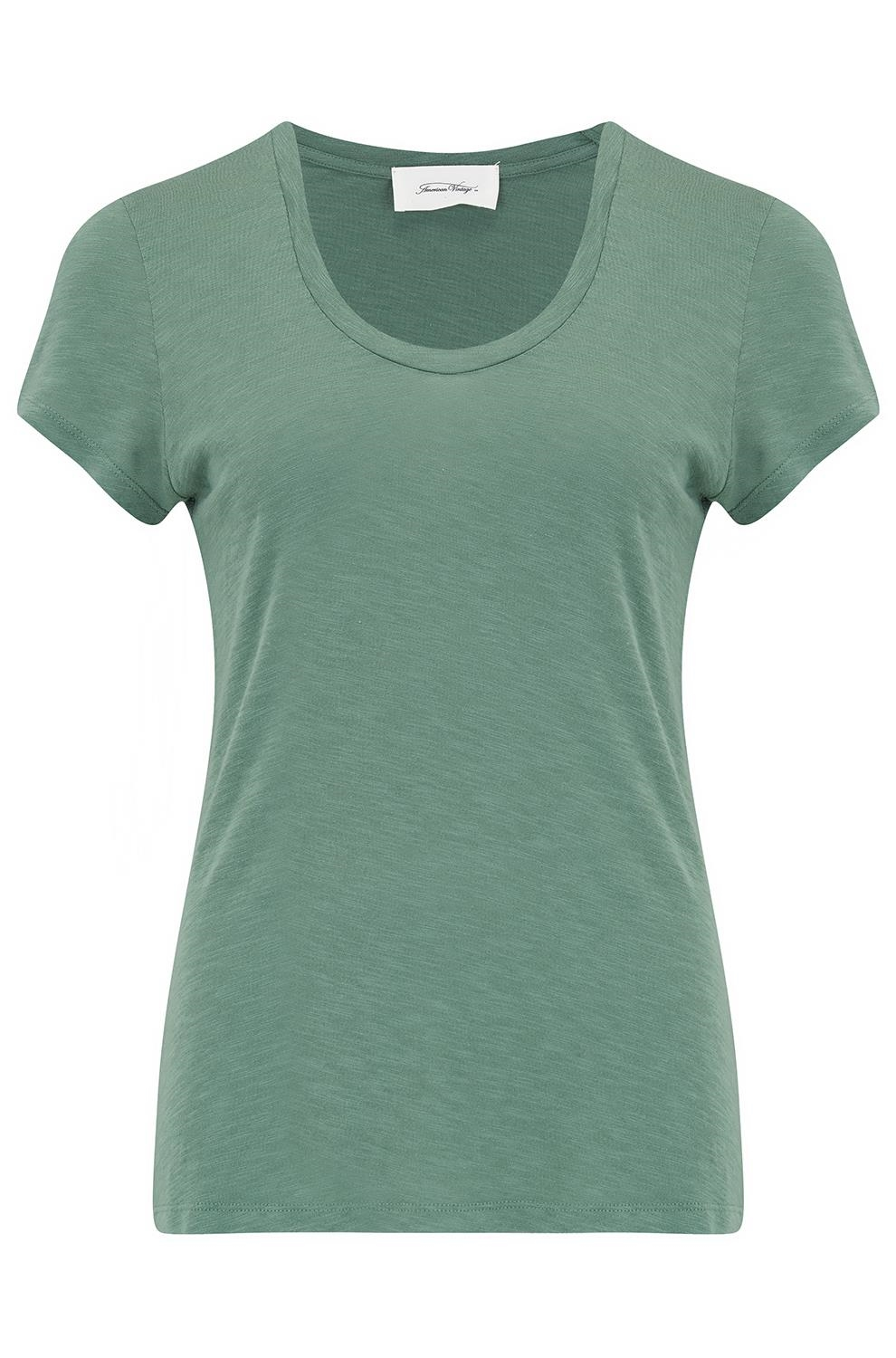 94d618c0 American Vintage Jac48 Jacksonville T-Shirt in Mojito -