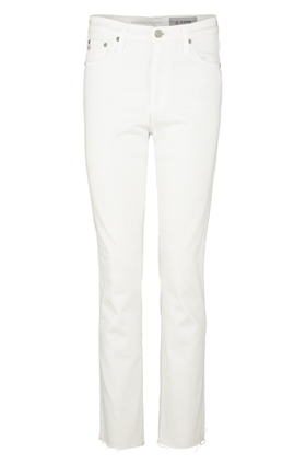 AG Jeans Isabelle Straight Jean in 01 Year White