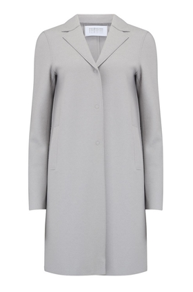 Boxy Coat in Cloud