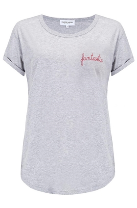 Maison Labiche Fantastic Tee in Grey