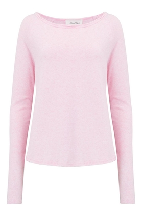 Sonoma Long Sleeve T-Shirt in Pink Melange