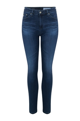 AG Jeans Mari Straight Leg Jean in 5 Years Blue Essence