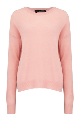 360 Sweater Camille Round Neck Jumper in Nectar