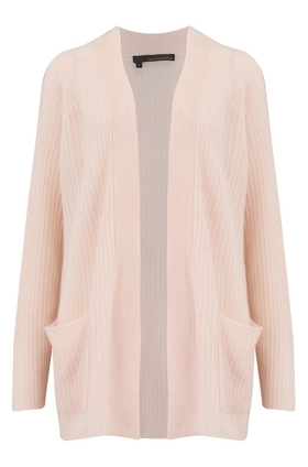 Hayley Long Cardigan in Sorbet