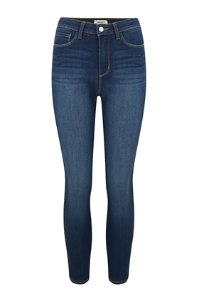 L'AGENCE Margot Skinny Jean in Baltic