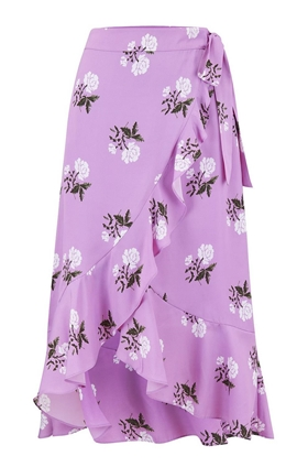 Essentiel Antwerp Sadie Skirt in African Violet