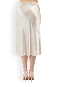 slip skirt in champagne