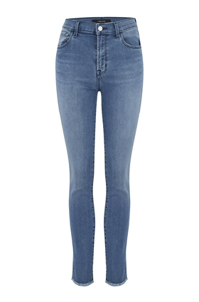J Brand Ruby High-Rise Cigarette Jean in Vega (30 Inch Inseam)