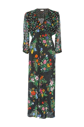 Rixo Bonnie Dress in English Floral