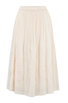 Lise Skirt in Cream