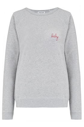 Baby Sweatshirt in Grey