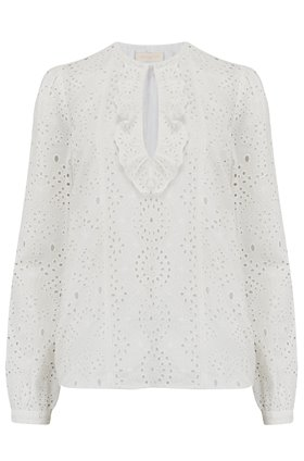 Lili Rose Blouse in White