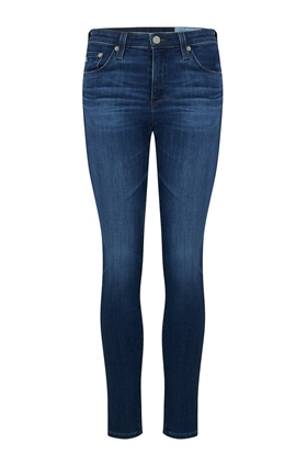 AG Jeans Prima Ankle Cigarette Jean in 5 Years Blue Essence