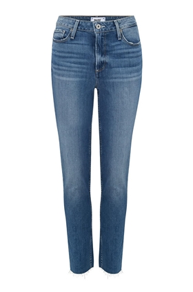 Hoxton Slim Straight Leg Jean in Brydie