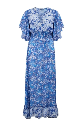 Marlowe Dress in Forget Me Not Blue