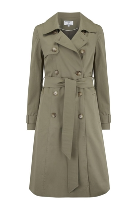 Trench Coat in Khaki