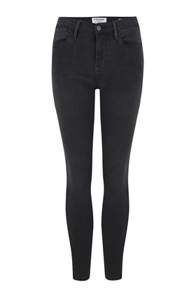 Frame Le High Skinny Jean in Fletcher