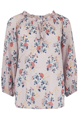 Sharla Top in Pink Floral