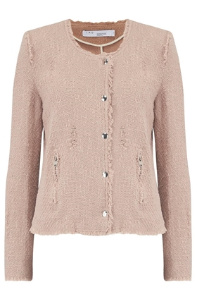 Agnette Jacket in Powder Pink