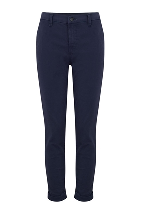 josie tapered trouser in rugby blue