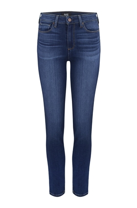 Paige Hoxton Slim Straight Leg Jean in Hampton
