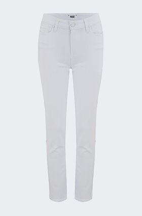 hoxton straight jean in crisp white