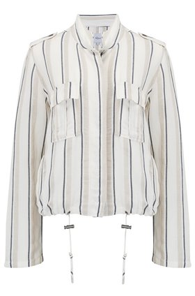 Rails Rowen Jacket in Coco Stripe