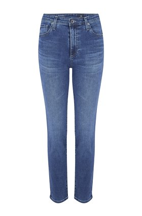 AG Isabelle Straight Leg Jean in Crystal Clarity