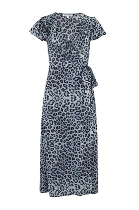 Trixie Dress in Safari Denim Blue