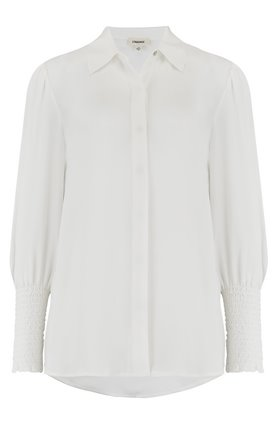 L'AGENCE Lucien Blouse in Ivory