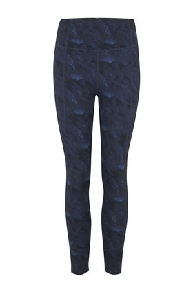 Varley Kensington Legging in Navy Feathers