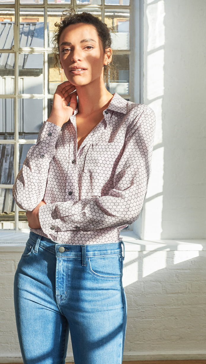 Chic Shirting: Luxe Classics for Everyday