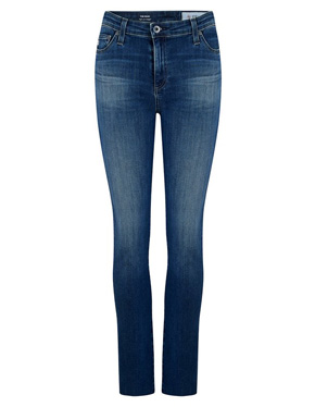 AG JEANS - Mari Straight Leg Jean in 12 Years Idiosyncratic
