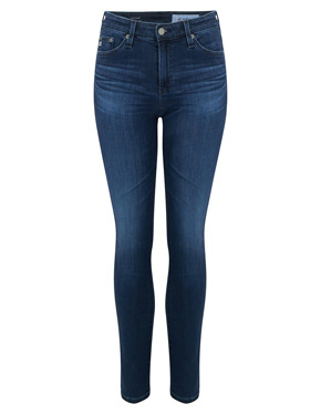 AG JEANS - Mari Straight Leg Jean in 5 Years Blue Essence