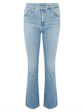 AG JEANS - Jodi Crop Jean in 26 Years Skylight