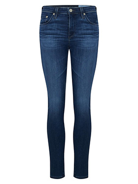 AG JEANS - Prima Ankle Cigarette Jean in 5 Years Blue Essence