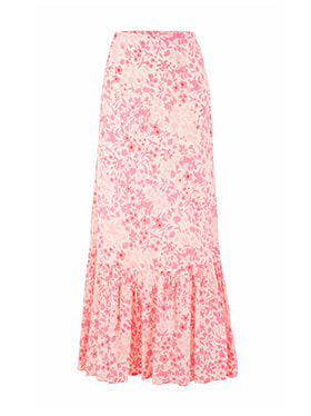 LILY & LIONEL - Exclusive Cleo Skirt in Pink Floral