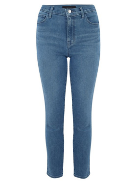 J BRAND JEANS - Exclusive Ruby Cropped Cigarette Jean in Heart