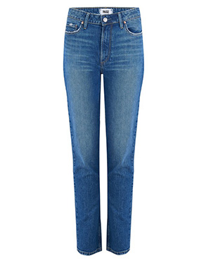 PAIGE - Exclusive Hoxton Slim Jean in Trail