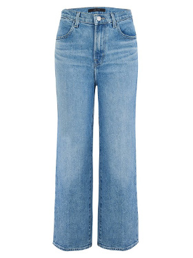 J BRAND JEANS - Joan Wide Leg Cropped Jean in Chadron