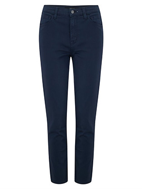 J BRAND JEANS - Exclusive Ruby Cropped Cigarette Jean in Iris