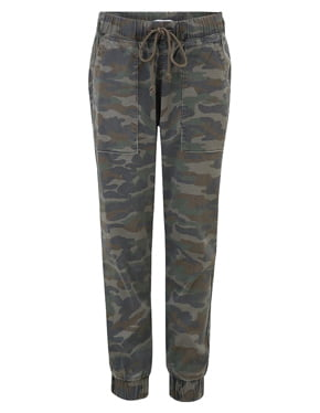 BELLA DAHL - Camo Jogger In Army Charcoal