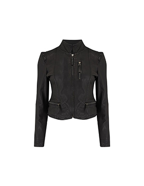 MDK - Ruci Leather Jacket In Black