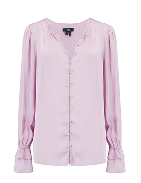 PAIGE - Vienne Blouse in Fragrant Rose