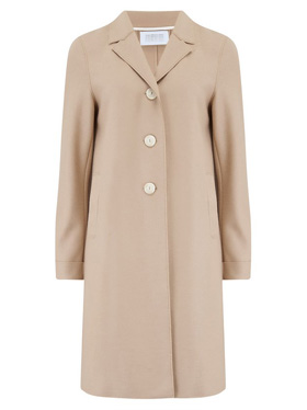 HARRIS WHARF LONDON - Boxy Coat in Sand